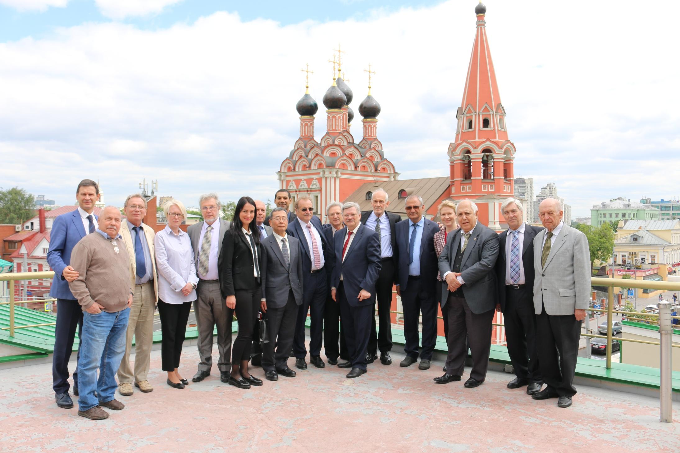 Международный симпозиум, посвященный 25-летию Русской секции Международной академии наук